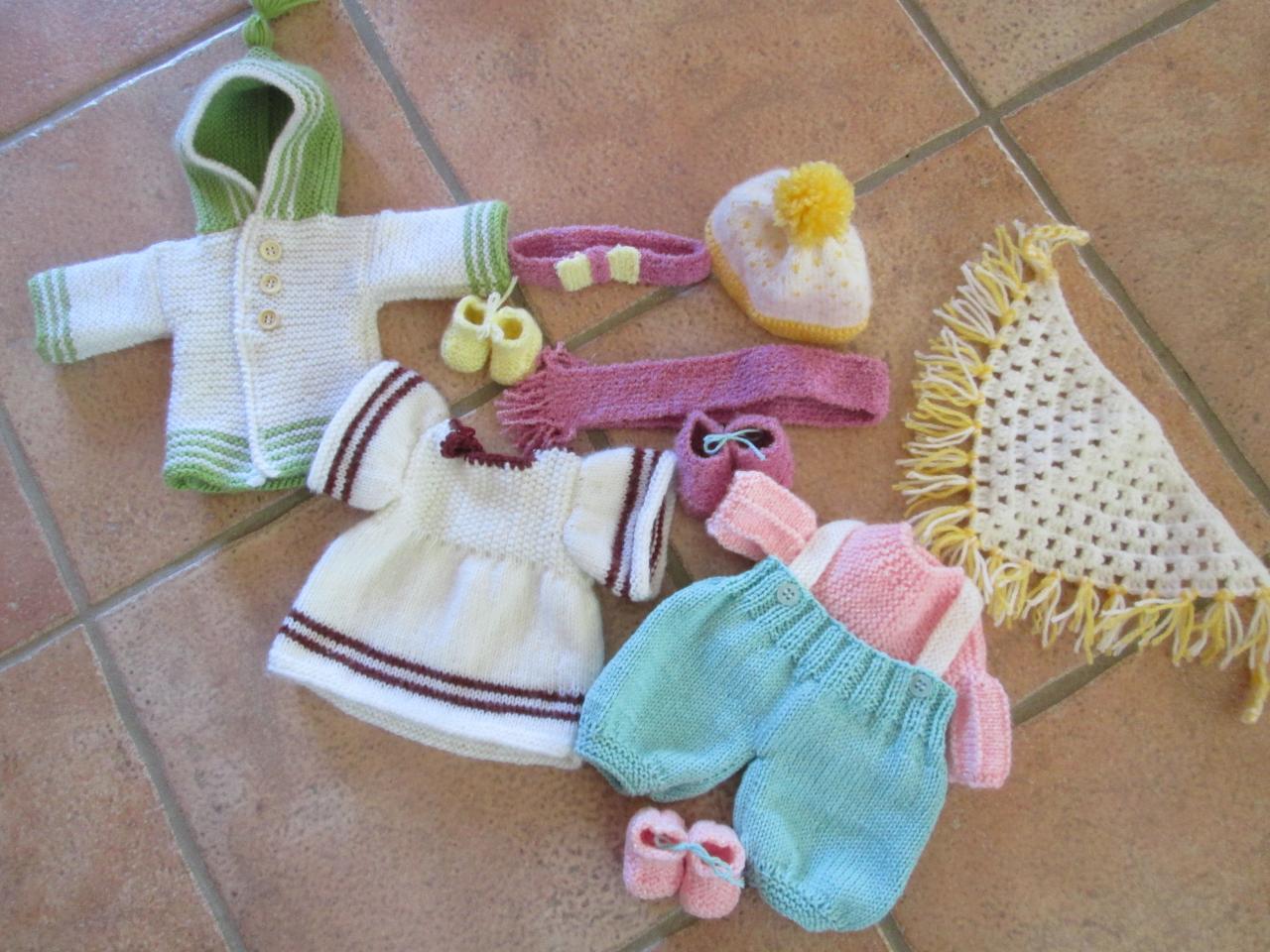 jouets et accessoires poupées en laine