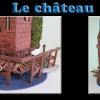 Maquette sur Tuile le château